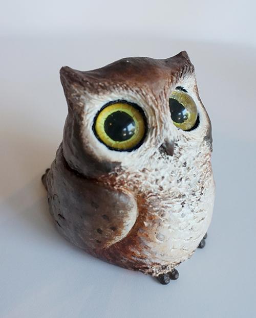 Clay Owl by Alisha Rosen