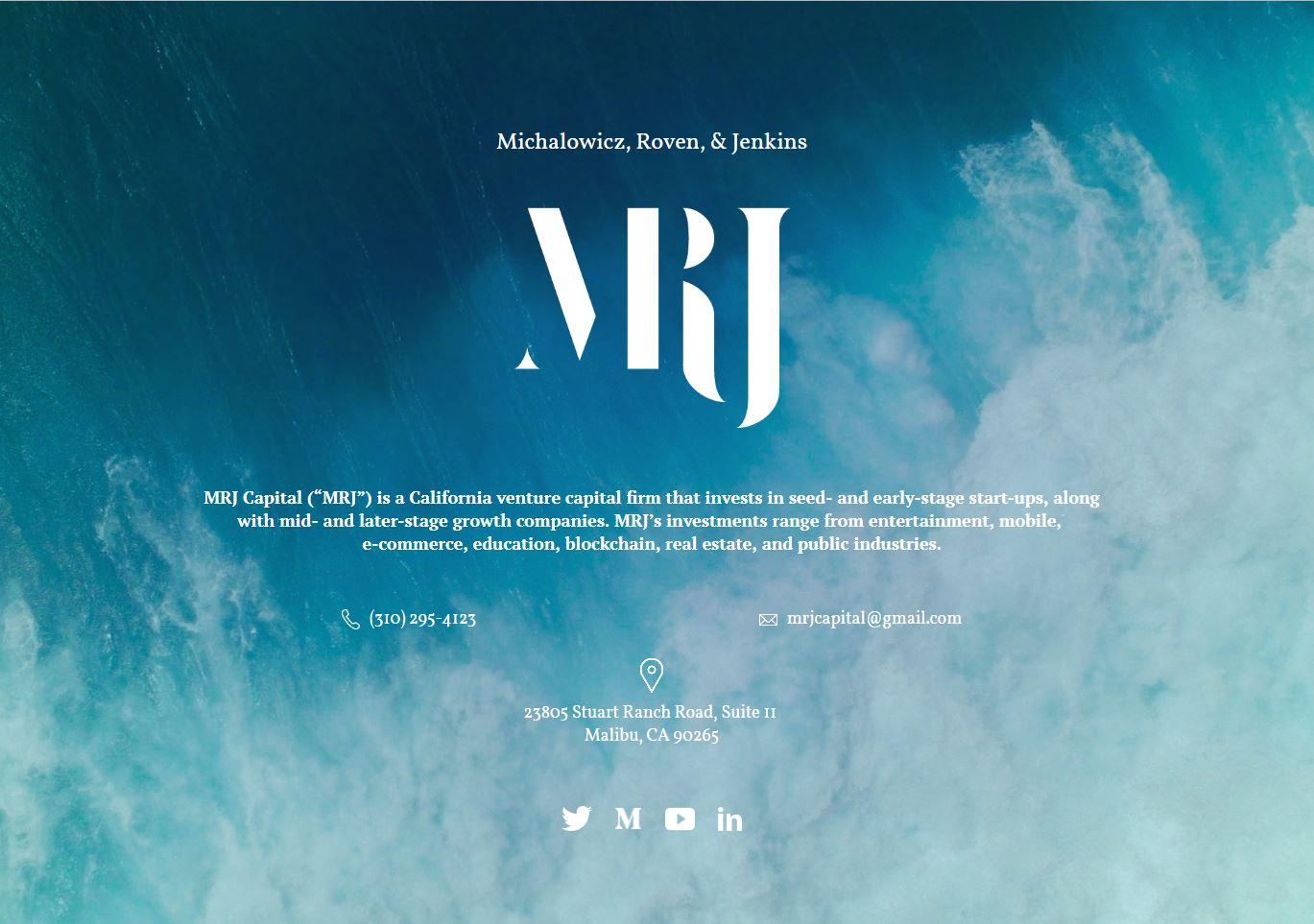 MRJ Capital designed by Alisha Rosen