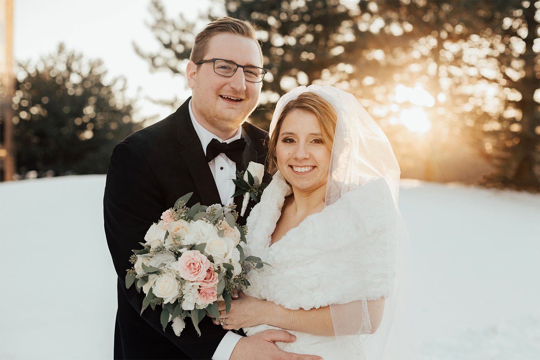 Katie and Jason wedding photo