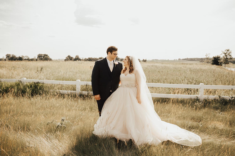 Kristen and Matt wedding photo