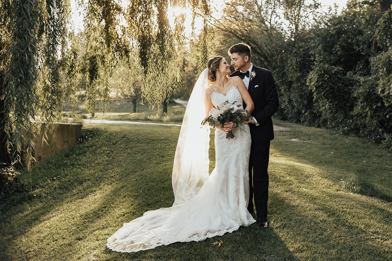Chrissy and Sean wedding photo