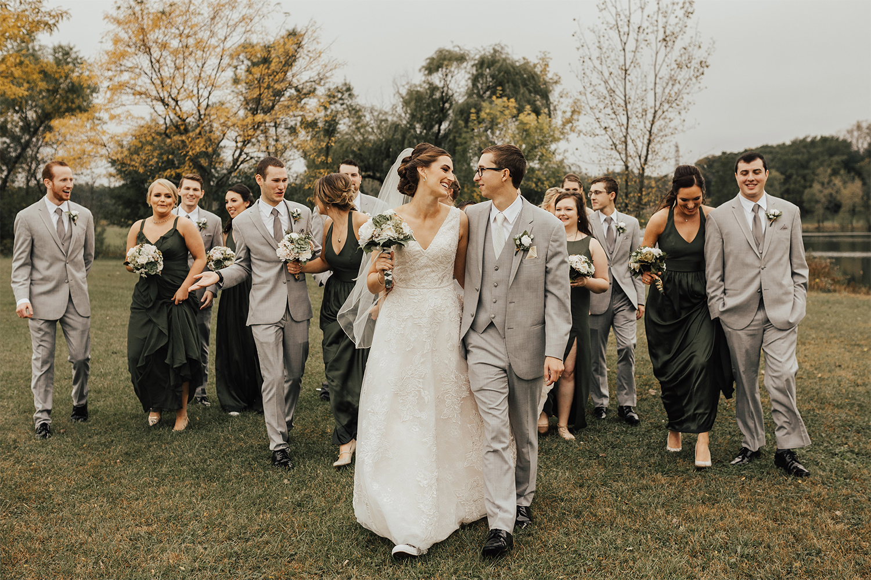 Jessie and Dan wedding photo