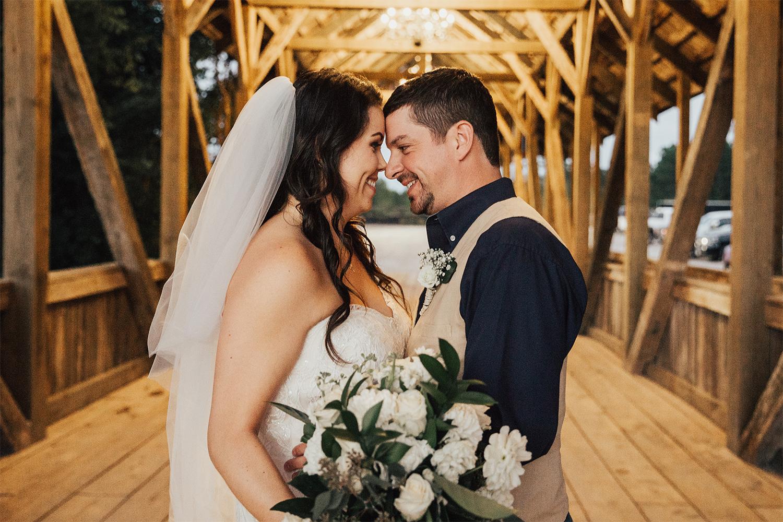 Amanda and Nick wedding photo