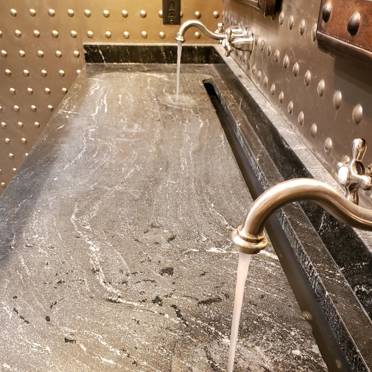 Restroom - Natural Stone