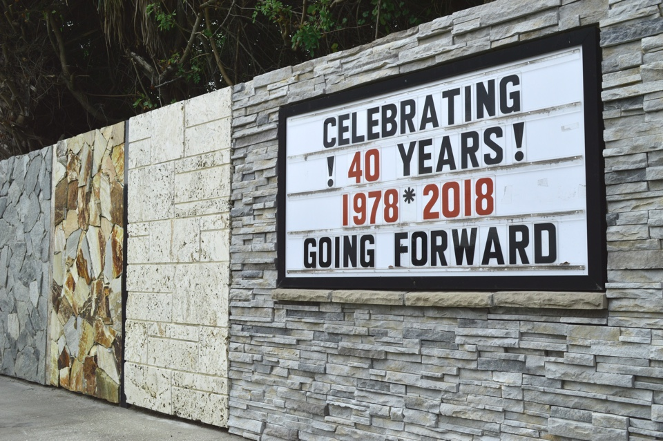 Space Coast - Natural Stone - 40 Years
