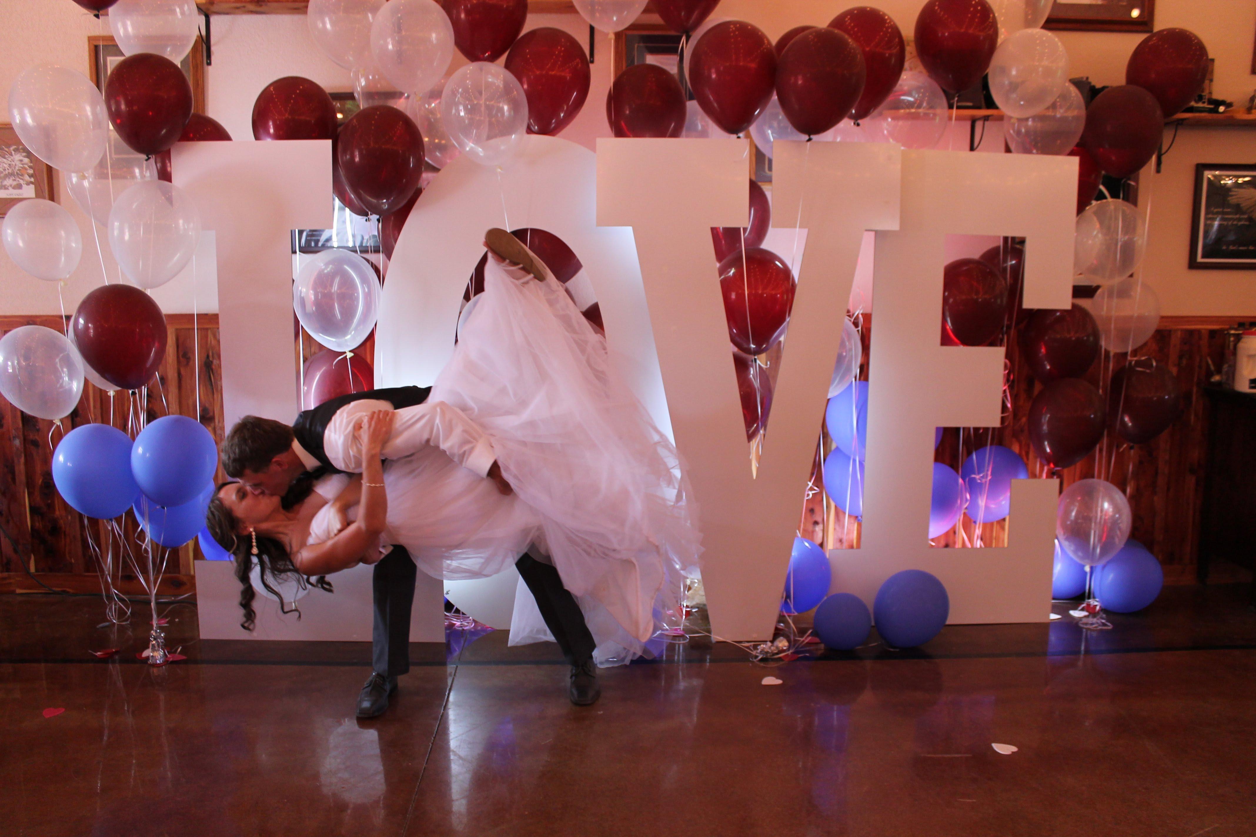 Wedding Decor giant letter LOVE