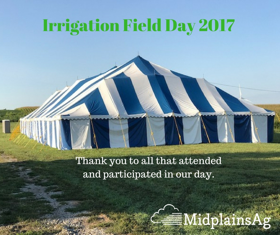 Successful 2nd Annual Irrigation Field Day