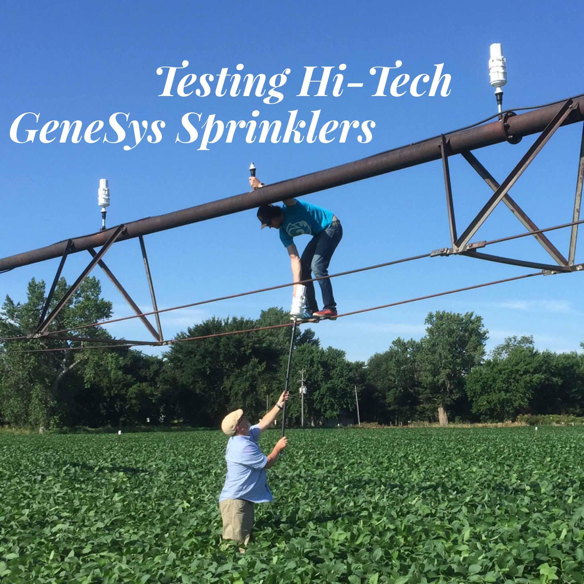Installing GeneSys Sprinklers