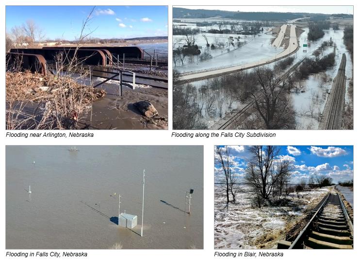 2019 Nebraska Flood Agricultural Impact