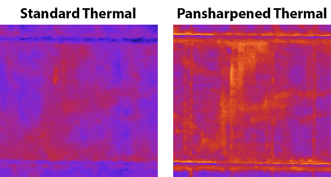 New: Pansharpened Thermal and Synthetic Color Imagery from TerrAvion