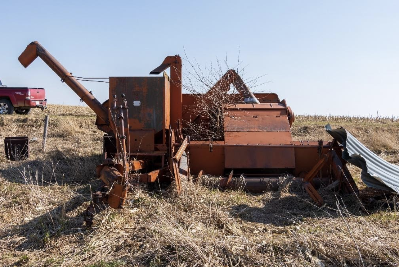 Farm Equipment Past and Present