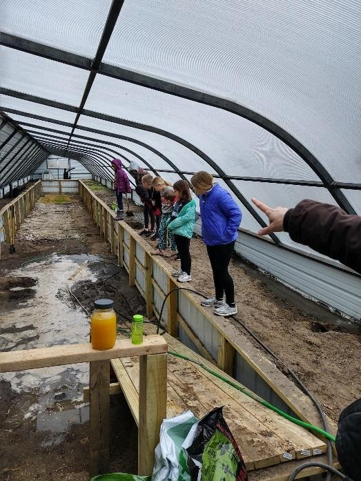 Way-Out-West 4-H Club Visits the Greenhouse