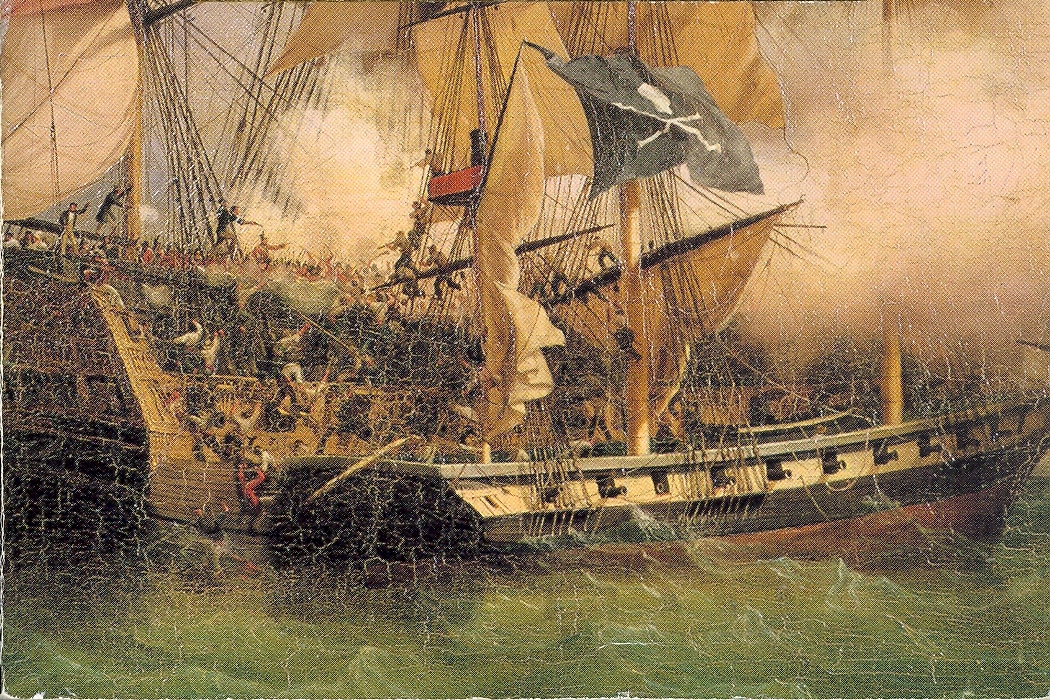 Red Market Startup Societies: Nassau and the Jolly Roger