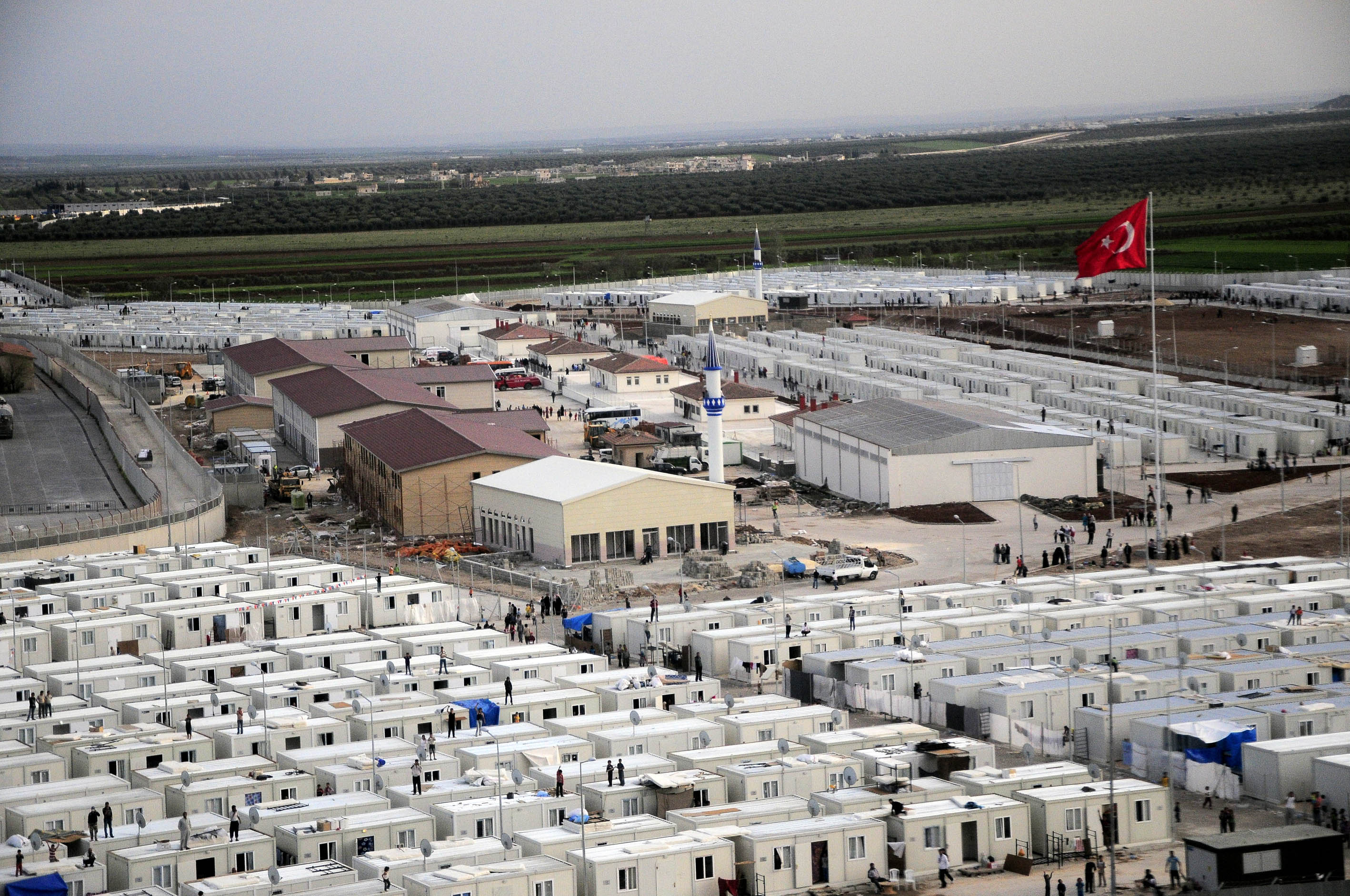 Refugee Camps: Potential Grounds for Startup Societies?