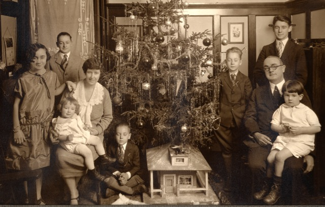 Clarence Donohoe Family, 1920s.