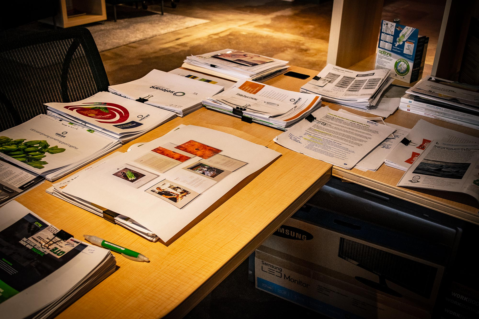 drew mangels branding desk