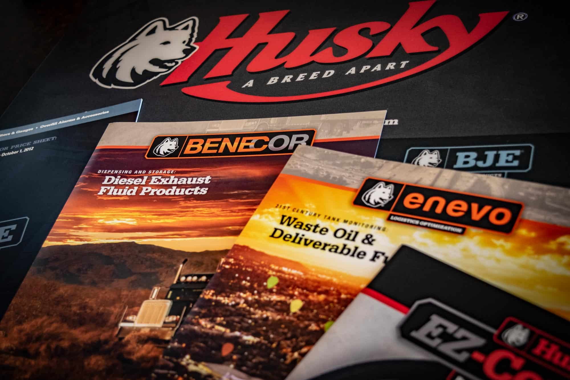spoke marketing husky collateral