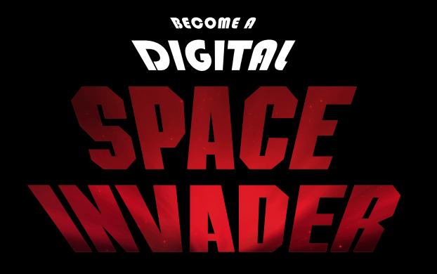 digital space invader