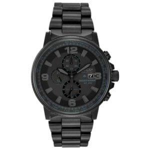 black mechanical watch