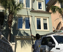 pure water window cleaning in hilton head