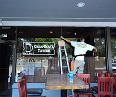 store front window cleaning hilton head
