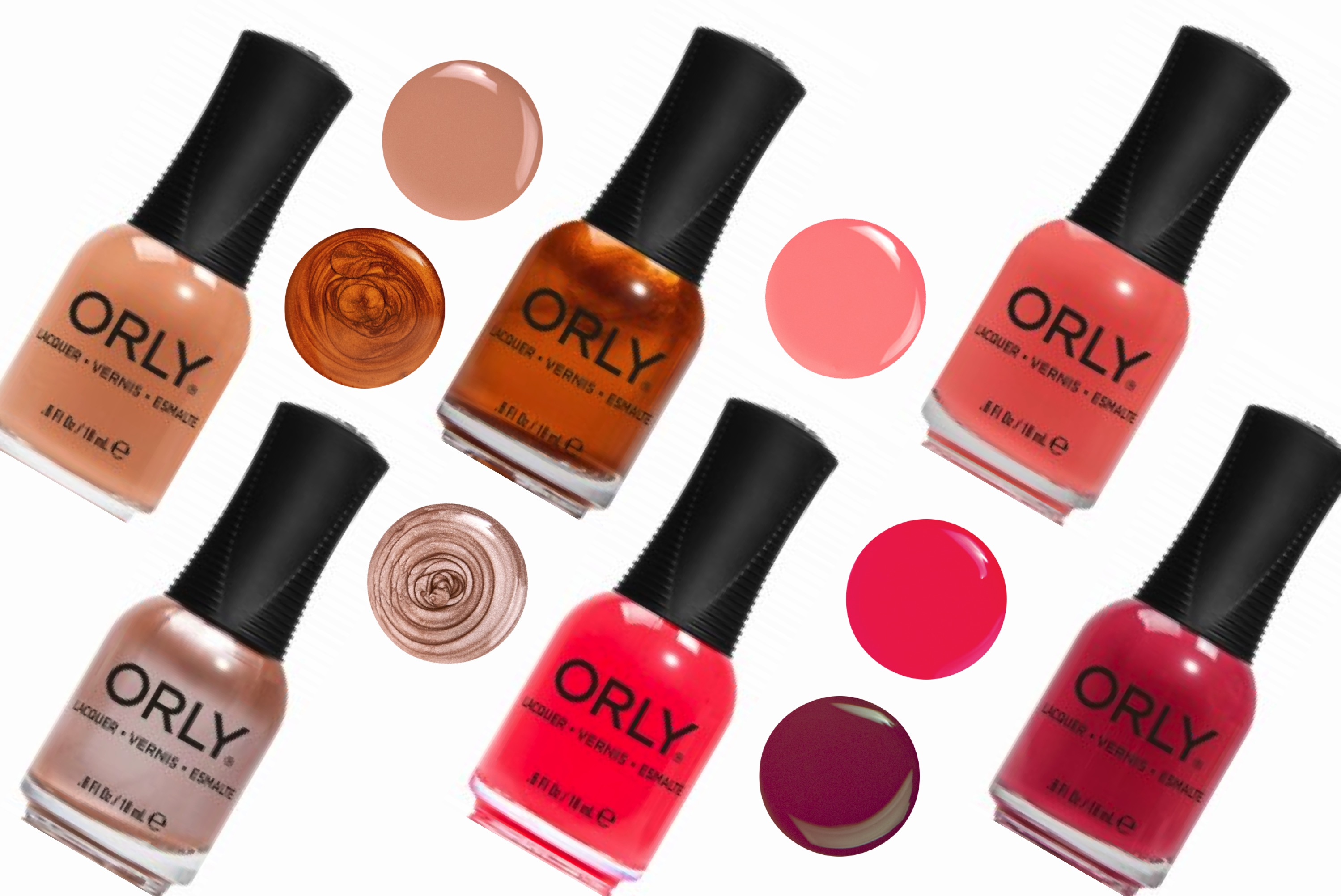 Orly Neon Earth Collection Land Of New