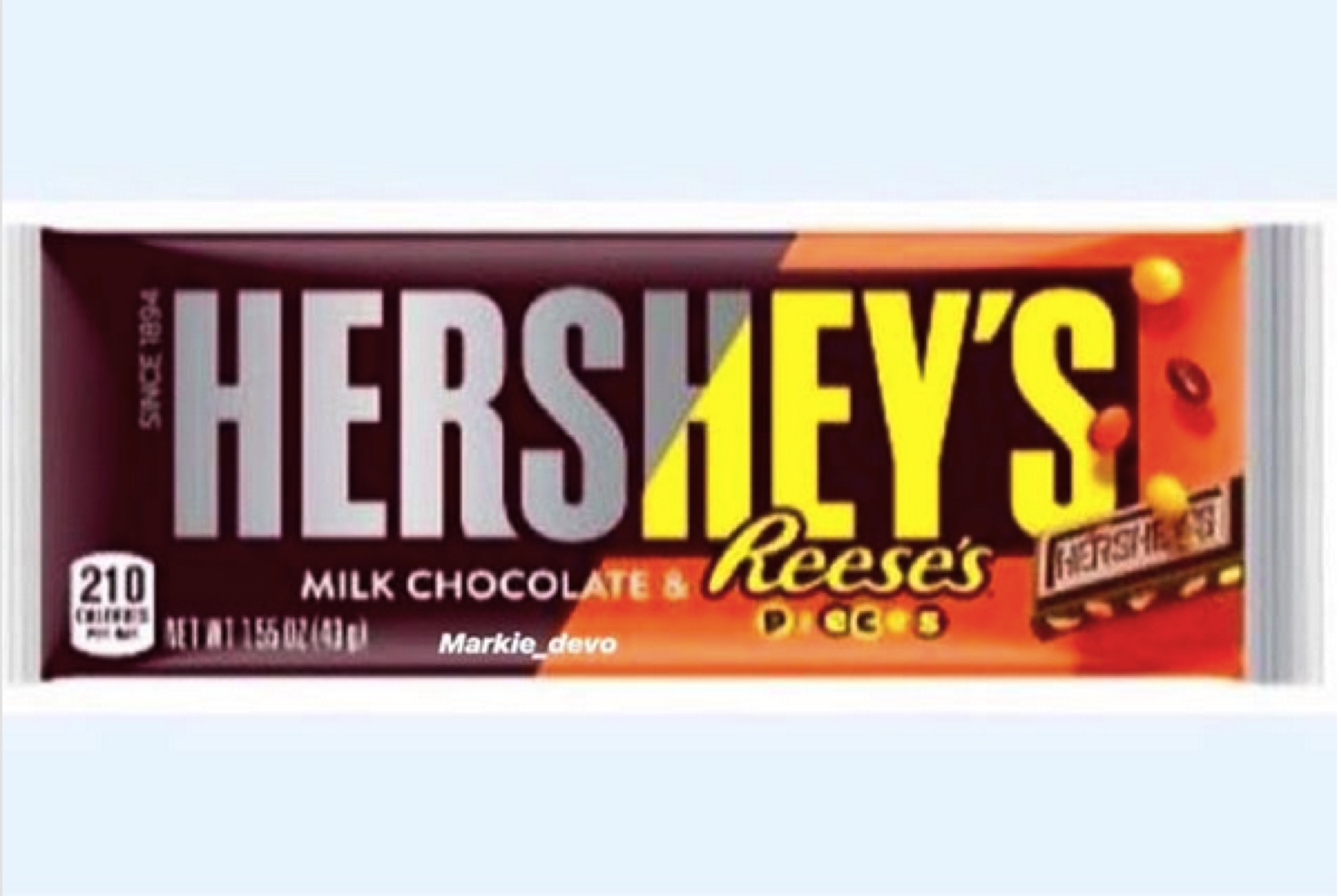 Hersheys Milk Chocolate And Reeses Pieces Land Of New