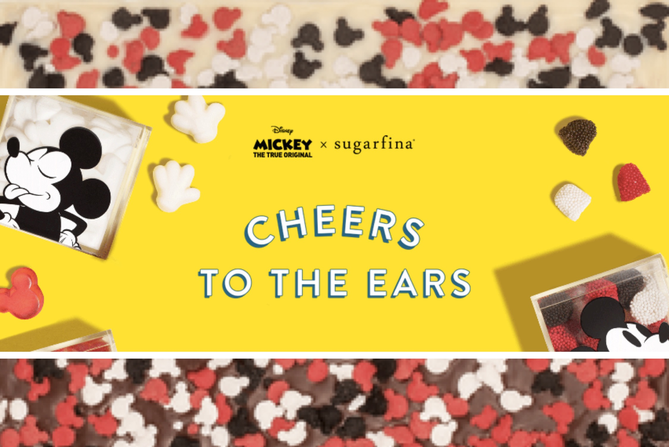 Sugarfina x Mickey The True Original: Cheers to the Ears Collection