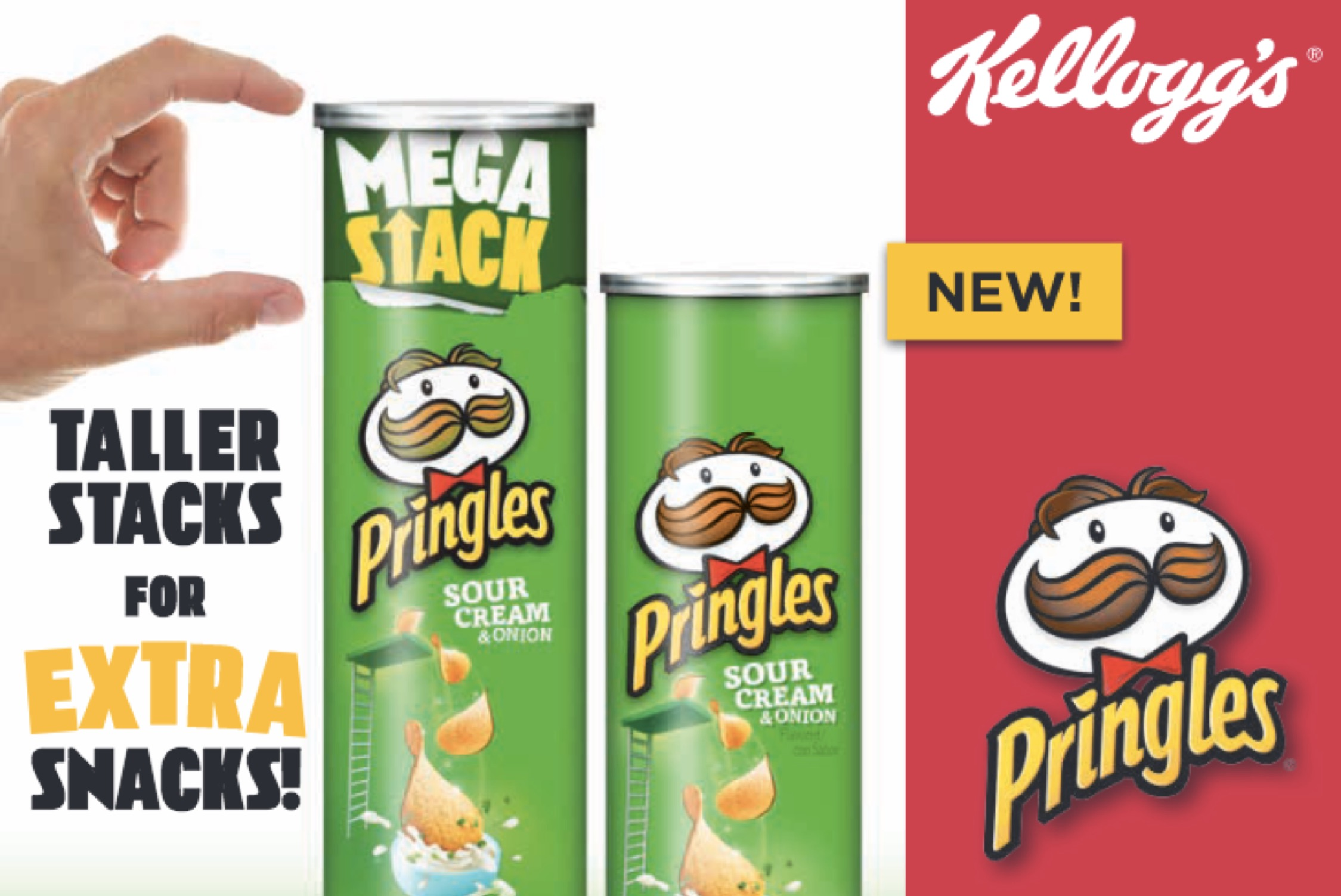 Pringles Mega Stack Can