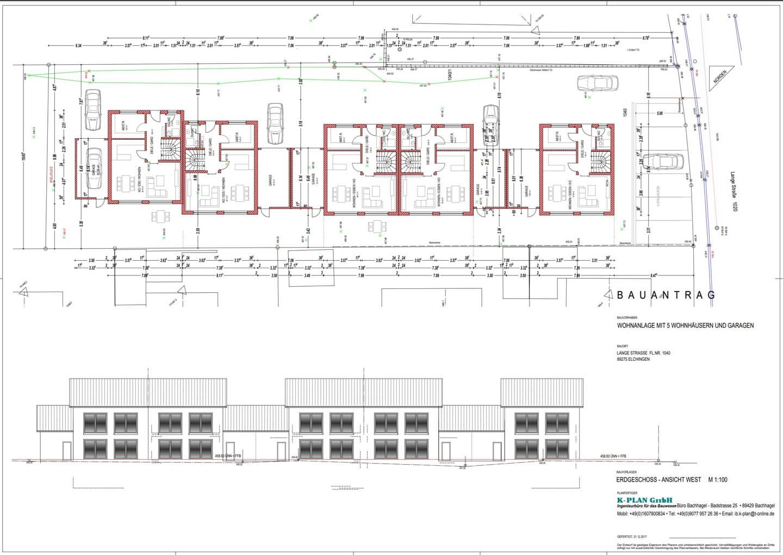 Donau Projektbau - Aktuelles Projekt in elchingen - Ansicht Süd