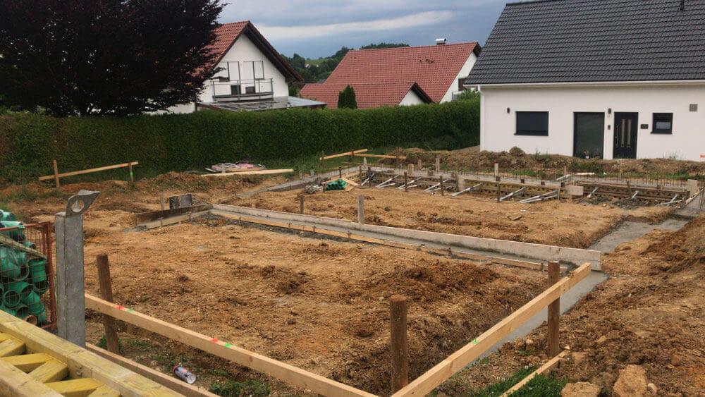 Donau Projektbau - Roggenburg - Einfamilienhaus  und Zweifamilienhaus - 2