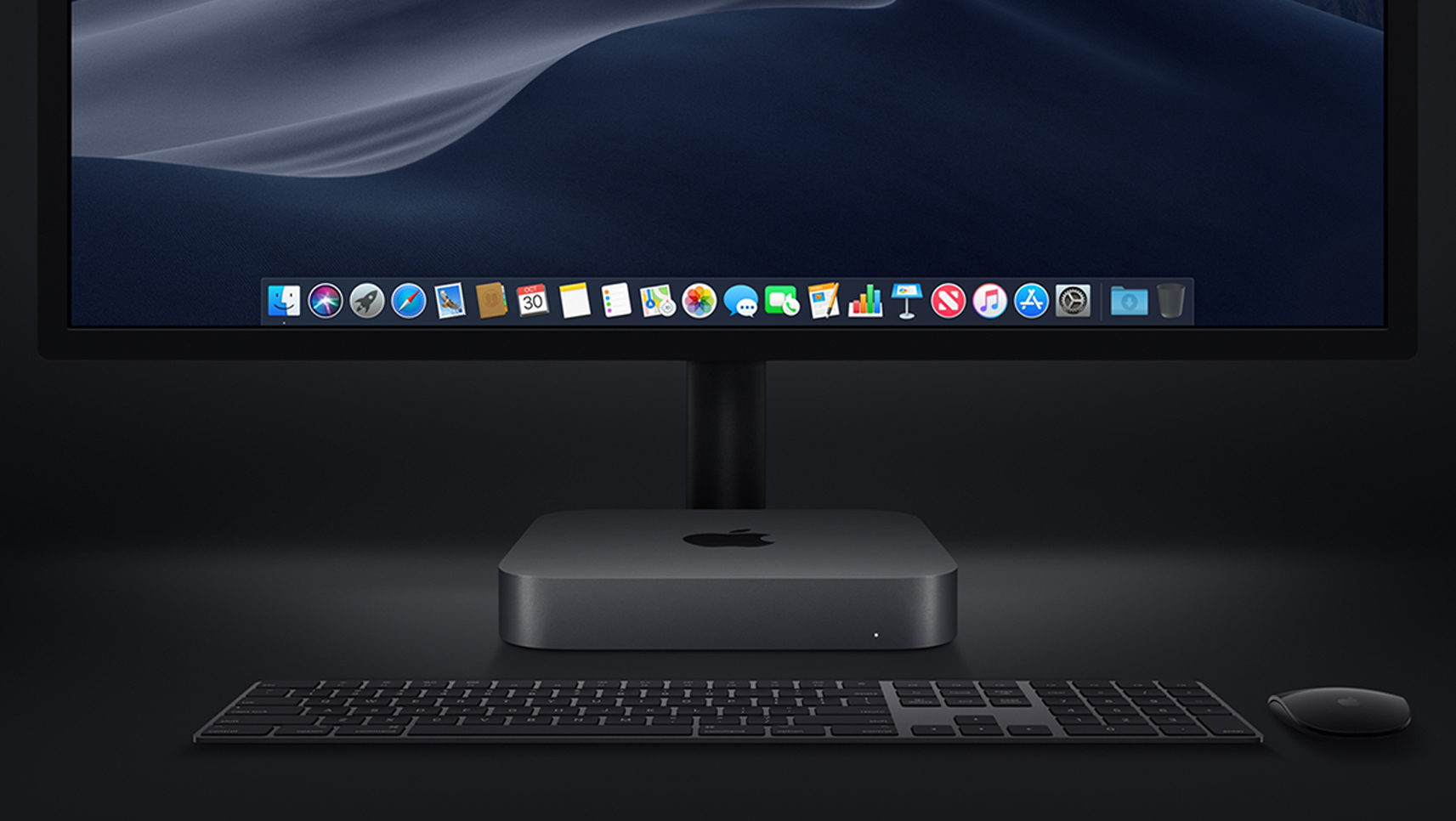 image of mac mini and accessories