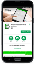 RezeptAssist mobile - Rezepte Smartphone App