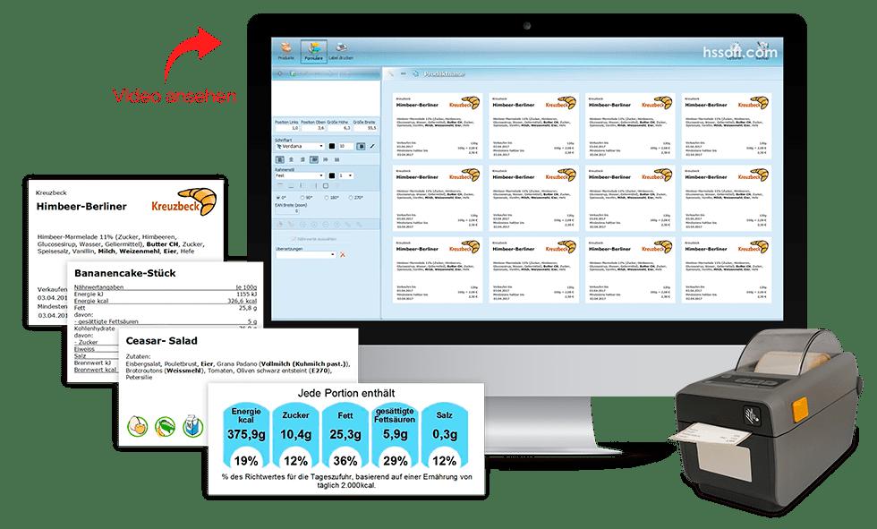Entdecken Sie die Möglichkeiten des LabelAssit Etiketten&Preisschilder Software mit Video