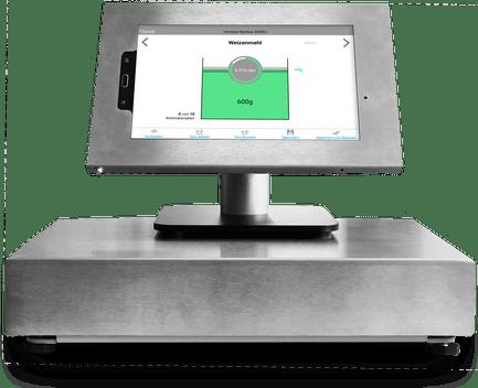 Bäckerei Kontrollwägesystem smart Scale