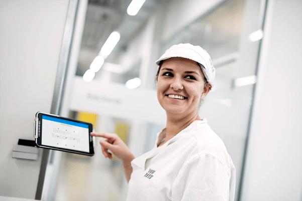 Kontrolle Arbeitszeiten für Bäckerei mit TimeAssist Zeiterfassung