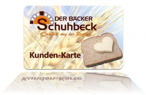 Kundenkarte Lösung in Der Bäcker Schuhbeck