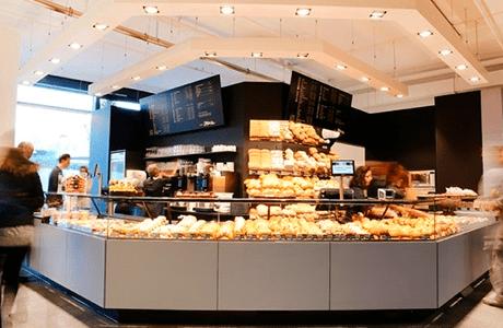 mobile app für Bestellungen in Die Merz Bäckerei
