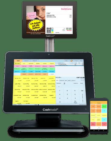 Bäckerei Kasse und Kassensystem Software CashAssist