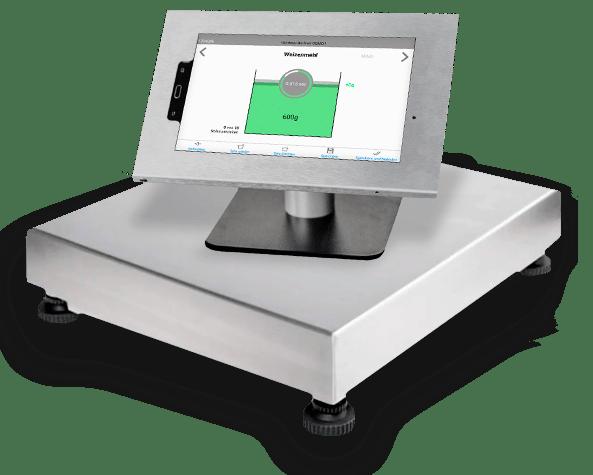 Tablet und Rezeptwaage smartScale