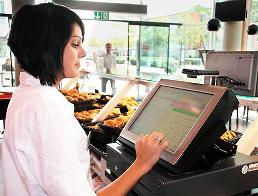Bäckerei Kasse mit Kundenkartesystem software