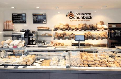 POS Kassensysteme in jeder Der Bäcker Schuhbeck Filiale