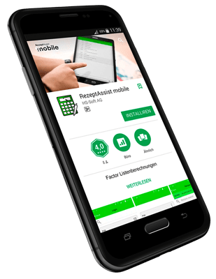 Rezept Assist Smartphone App