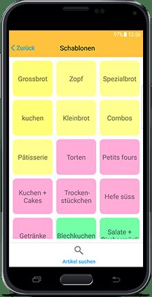 CashAssist mobile Kasse und Kassen App Speziell für Bäckerei