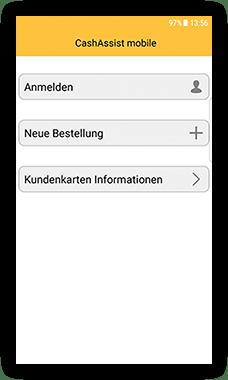 CashAssist Bäckerei mobile Kassen App screen - Neue Bestellung