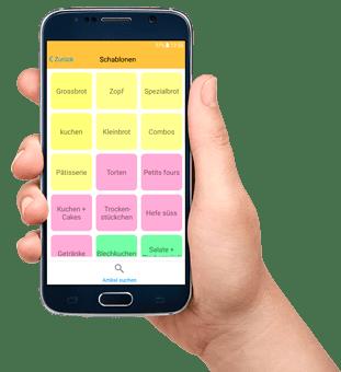 Bäckerei CashAssist mobile Kasse App