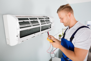 ductless cooling installation