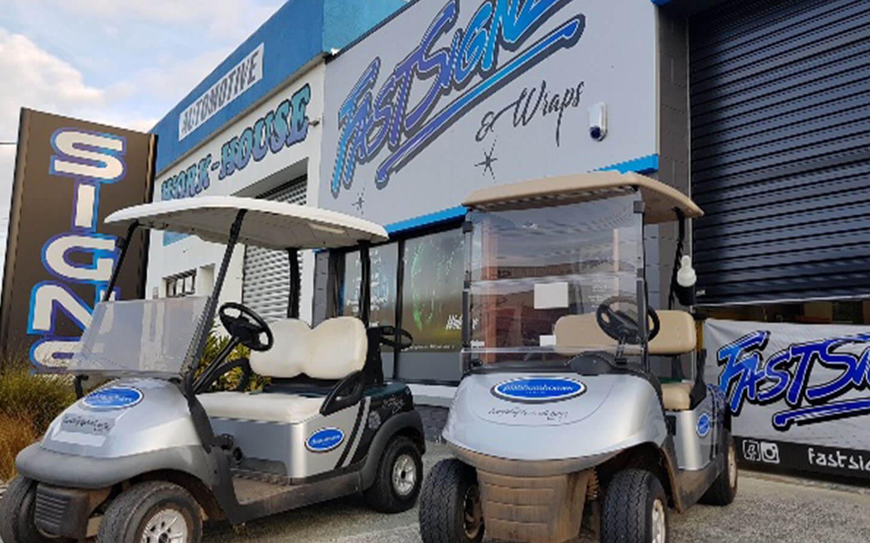 FastSignz Golfcart Wraps