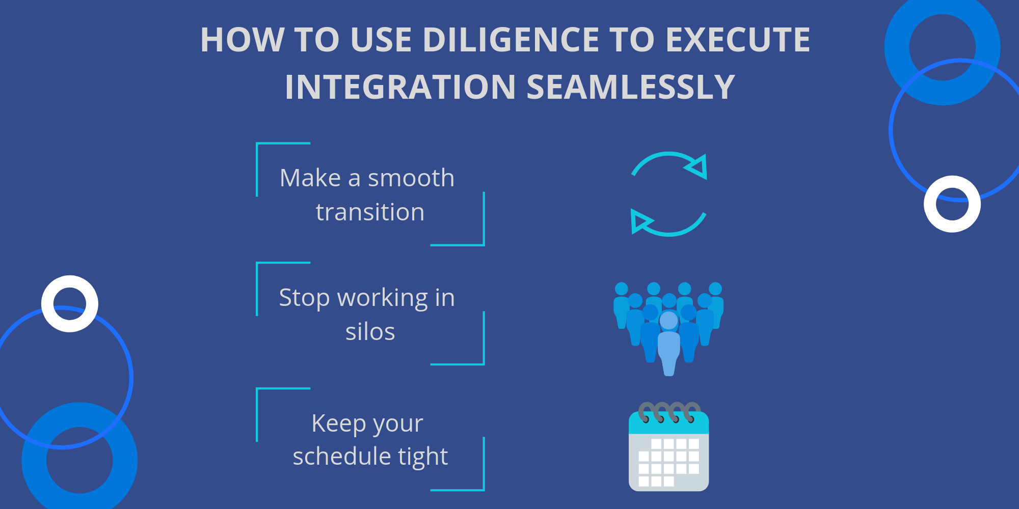 diligence to integration