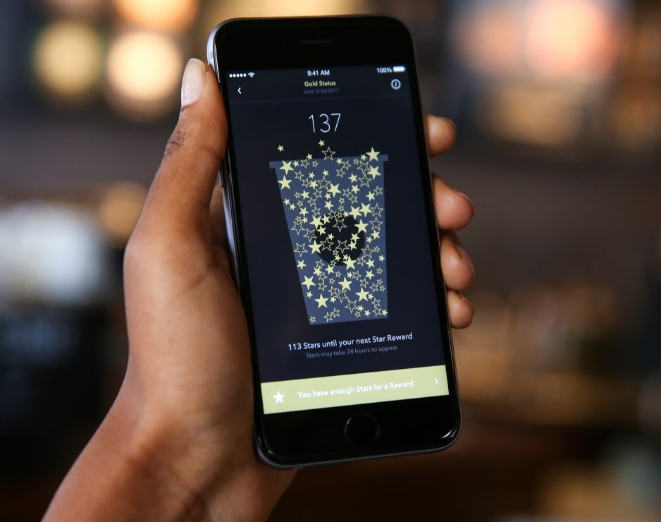 Starbucks Rewards App